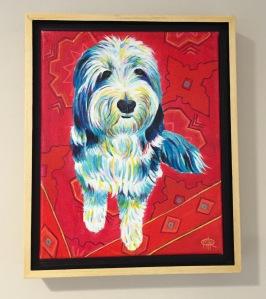 Gus framed